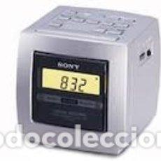 Radios antiguas: RADIO RELOJ DESPERTADOR SONY ICF - C113 PEPETO ELECTRONICA. Lote 179202831