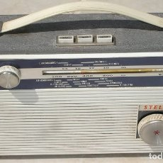 Radios antiguas: RADIO ANTIGUO PORTATIL STELLA. Lote 6242737