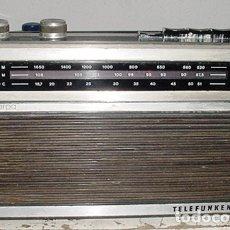 Radios antiguas: TRANSISTOR TELEFUNKEN HARPA AM/FM FUNCIONANDO. Lote 179524576