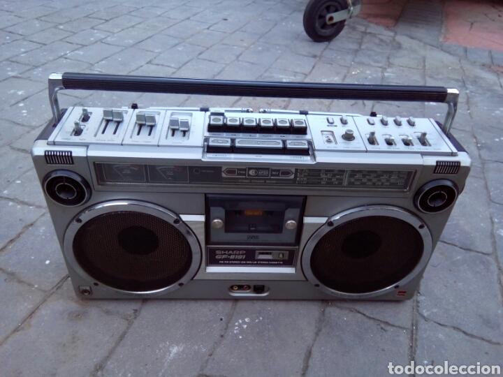 RADIOCASSETTE SHARP GF-9191 (Radios, Gramófonos, Grabadoras y Otros - Transistores, Pick-ups y Otros)