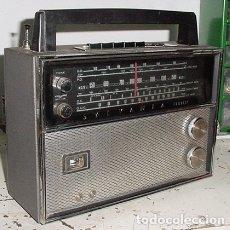 Radios antiguas: RADIO TRANSISTOR MULTIBANDA SYLVANIA AM/FM. Lote 179526418