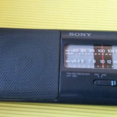 Radios antiguas: RADIO TRANSISTOR SONY ICF 380. Lote 179532058