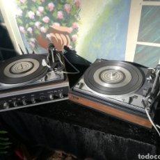 Radios antiguas: 2 PLATOS / TOCADISCOS VINTAGE (DUAL). Lote 179548970