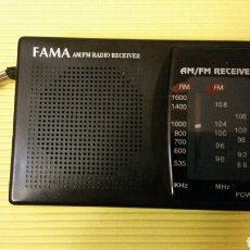 Radios antiguas: RADIO TRANSISTOR -FAMA. Lote 179549237