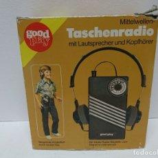 Radios antiguas: 118-RADIO TRANSISTOR GOOD PLAY. Lote 179552582