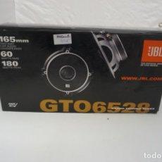 Radios antiguas: ALTAVOCES PARA AUTOMOVIL JBL GTO6528 / 40W 165 MM. NUEVOS SIN ESTRENAR. Lote 179948122