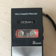 Radios antiguas: MINI CASSETTE GRABADOR AÑOS 70 FUNCIONANDO. Lote 180019206