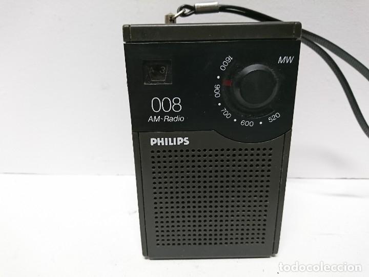 121-RADIO TRANSISTOR PHILIPS 008 (Radios, Gramófonos, Grabadoras y Otros - Transistores, Pick-ups y Otros)