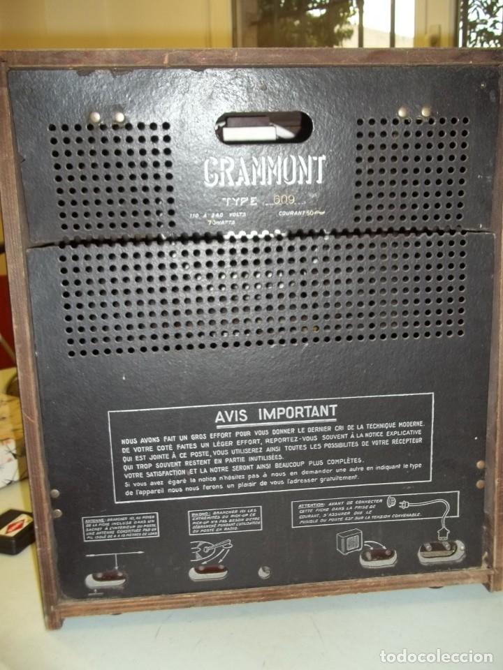 Radios antiguas: Radio Grammont - Foto 4 - 180105250