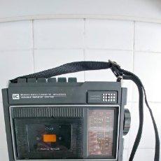 Radios antiguas: RADIO CASSETTE SANYO M2528N FUNCIONA. Lote 180192418