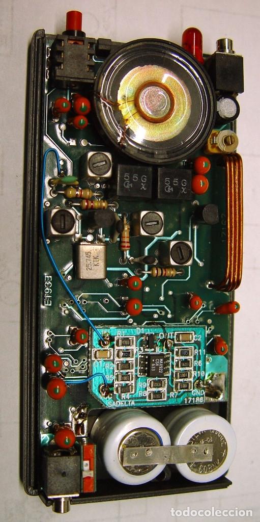Radios antiguas: Receptor buscapersonas - Pager Sadelta Digitone 2002...sanna - Foto 3 - 180264182