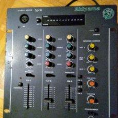 Radios antiguas: MESA MEZCLADORA AKIYAMA DJ-50. Lote 180271971
