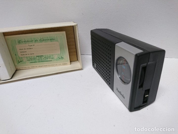 Radios antiguas: 134-Radio transistor Radiola RA 020 - Foto 3 - 180282075
