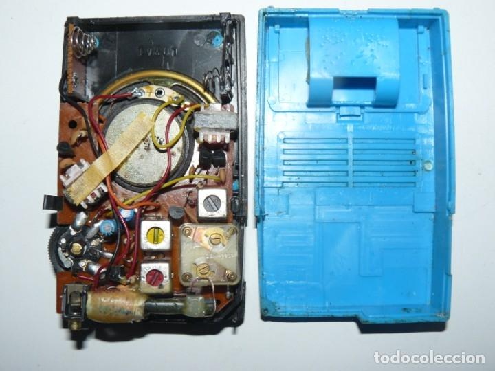 Radios antiguas: RADIO TRANSISTOR - ESTRELLA - MOD. IGUAL AL JAPAN IC 83 LOYAL FUNCIONA - Foto 5 - 180313475