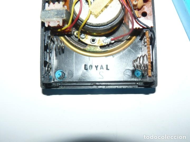 Radios antiguas: RADIO TRANSISTOR - ESTRELLA - MOD. IGUAL AL JAPAN IC 83 LOYAL FUNCIONA - Foto 6 - 180313475