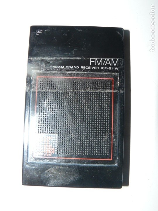RADIO TRANSISTOR SONY MOD.ICF-S11W (Radios, Gramófonos, Grabadoras y Otros - Transistores, Pick-ups y Otros)