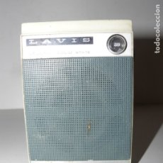 Radios antiguas: RADIO TRANSISTOR LAVIS 220 AÑO 1974. Lote 180314598