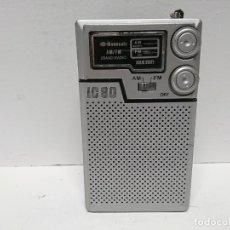 Radios antiguas: 140-RADIO TRANSISTIR MANSONIC IC80. Lote 172090648