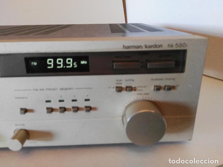 Radios antiguas: Harman Kardon, Receiver, hk-580i/ Leyenda Vintage del sonido Americano!! - Foto 10 - 180397158