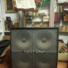 Radios antiguas: GRAN PANTALLA DE CUATRO VÍAS. PARA GRUPO DE MÚSICA O GUITARRA ELÉCTRICA. HUGHES & KETTNER. 100 W. . Lote 180850618