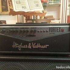 Radios antiguas: AMPLIFICADOR HUGHES & KETTNER PARA GUITARRA ELÉCTRICA. VORTEX BLACK SERIES. 100 W. 60 X 24 X 24 CM.. Lote 180852925