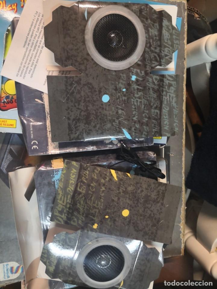 Radios antiguas: Altavoces plegables design pulse MATRIX. CUBO DE CARTÓN PLEGABLE CON Altavoz. Nuevos sin uso en caja - Foto 3 - 180905501
