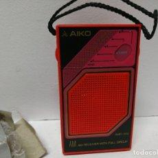 Radios antiguas: 151-RADIO TRANSISTOR AIKO AMR-610. Lote 181153353