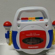 Radios antiguas: 152-CASSETTE RECORDER PANASHIBA SX-48. Lote 181153597