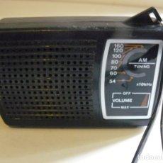 Radios antiguas: RADIO TRANSISTOR AM POCKET RADIO AÑOS 60. Lote 181399812