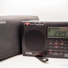 Radios antiguas: RADIO MULTIBANDAS BANDA AÉREA TECSUN PL-660. Lote 181405576