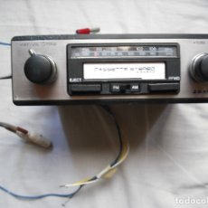 Radios antiguas: SANYO CASSETTE CAR STEREO WITH AM/FM RADIO . Lote 181446805