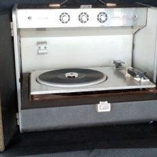 Radios antiguas: TOCADISCOS GENERAL ELECTRIC TRIMLINE AÑOS 60. Lote 181509480