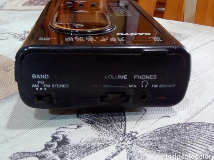 Radios antiguas: WALMAN SANYO RADIOCASSETTE - Foto 4 - 181742730
