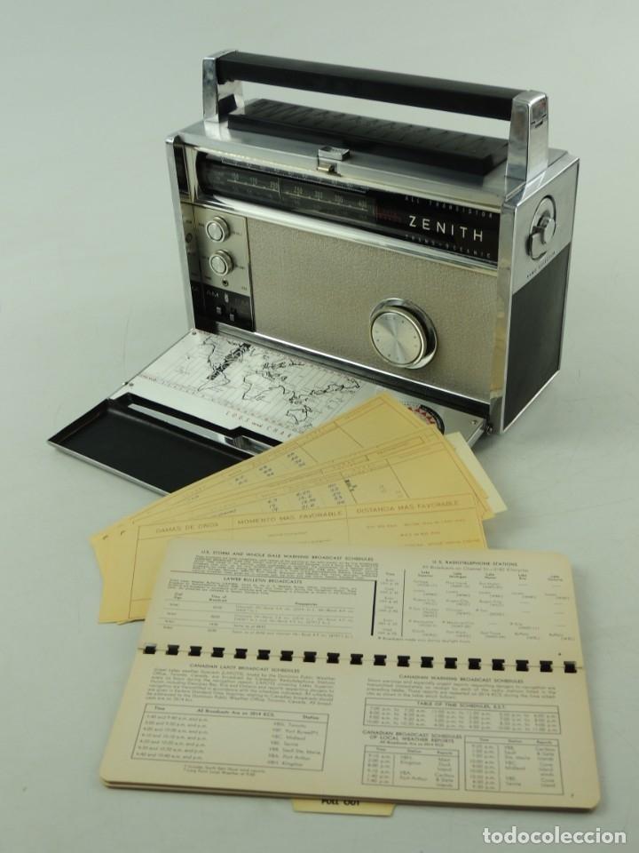 RADIO ZENITH ROYAL 3000-1 TRANS-OCEANIC FM-AM MULTIBAND (Radios, Gramófonos, Grabadoras y Otros - Transistores, Pick-ups y Otros)