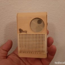 Radios antiguas: ANTIGUA MINI RADIO TRANSISTOR VANGUARD MINI SAMOS FUNCIONANDO AÑOS 60 VINTAGE. Lote 181896261