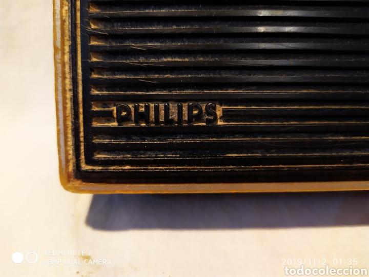Radios antiguas: RADIO PHILIPS, VINTAGE, FUNCIONANDO - Foto 2 - 181968250