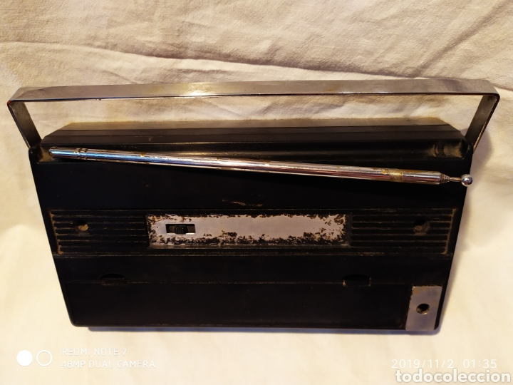 Radios antiguas: RADIO PHILIPS, VINTAGE, FUNCIONANDO - Foto 4 - 181968250