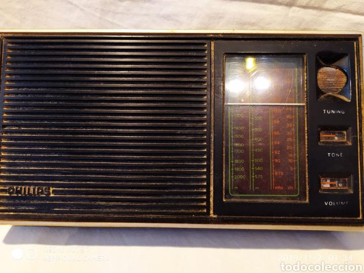 Radios antiguas: RADIO PHILIPS, VINTAGE, FUNCIONANDO - Foto 8 - 181968250