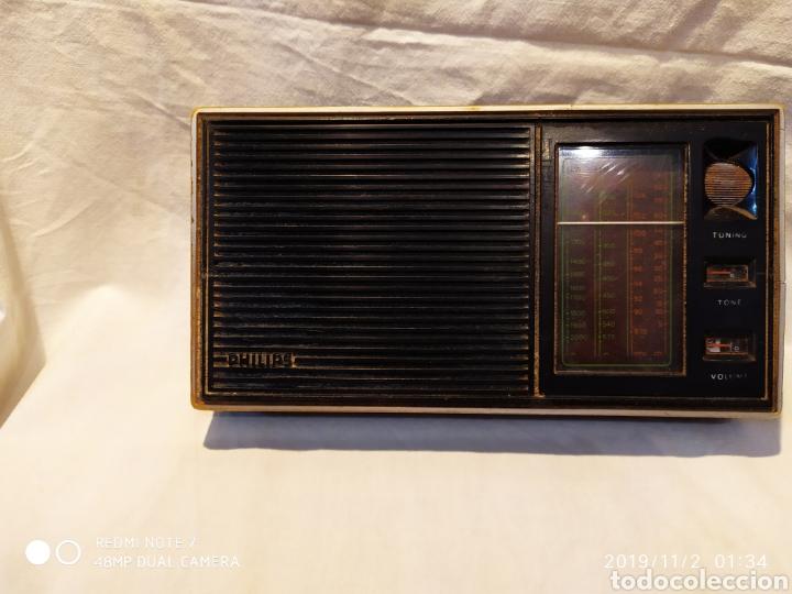 Radios antiguas: RADIO PHILIPS, VINTAGE, FUNCIONANDO - Foto 9 - 181968250