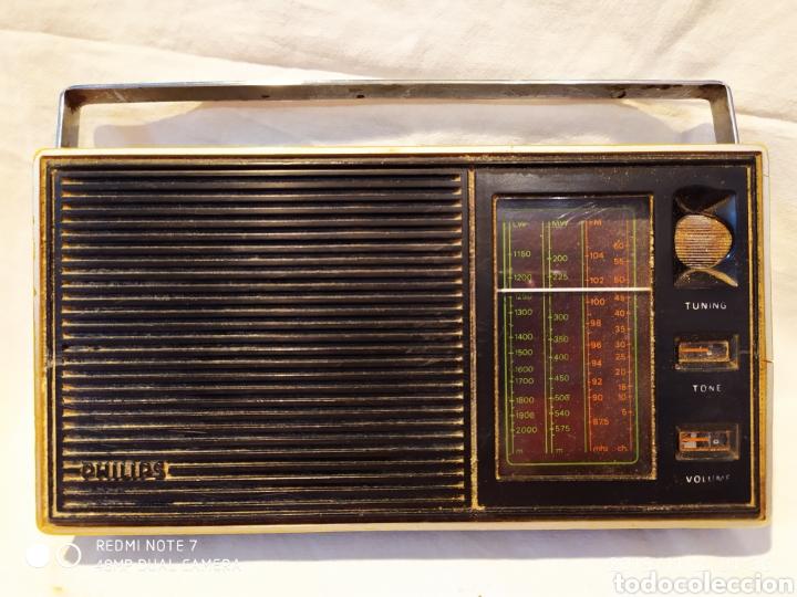RADIO PHILIPS, VINTAGE, FUNCIONANDO (Radios, Gramófonos, Grabadoras y Otros - Transistores, Pick-ups y Otros)
