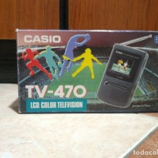 Radios antiguas: MINI TELEVISION TV-470 CASIO. Lote 182102515