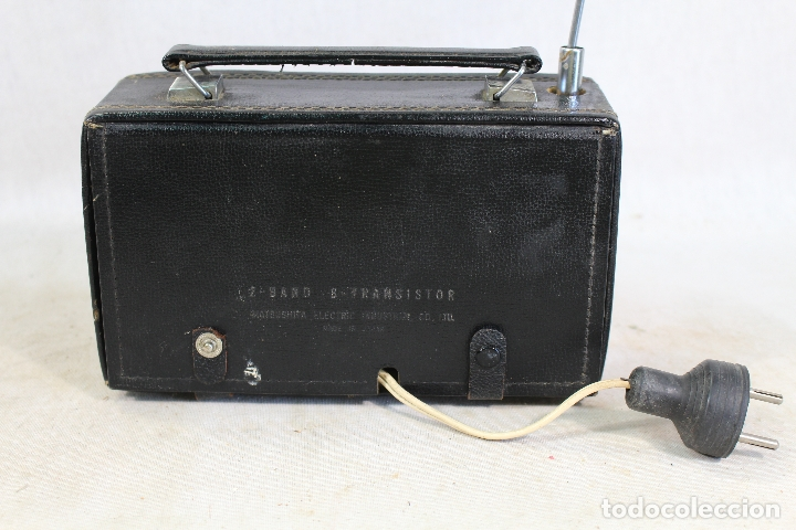 Radios antiguas: radio transistor national panasonic - Foto 2 - 182139660