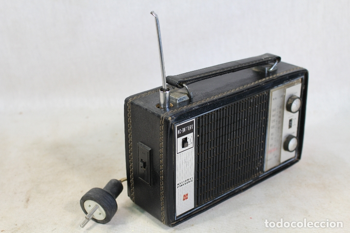 Radios antiguas: radio transistor national panasonic - Foto 3 - 182139660