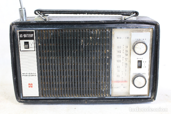 Radios antiguas: radio transistor national panasonic - Foto 4 - 182139660