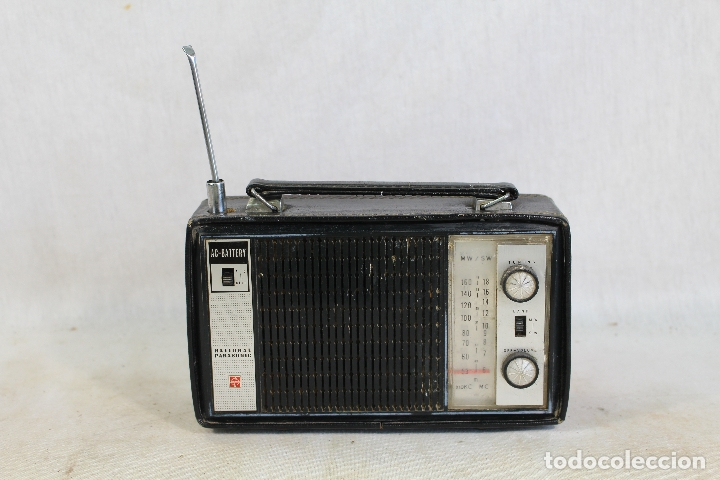 Radios antiguas: radio transistor national panasonic - Foto 1 - 182139660