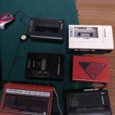 Radios antiguas: 6 WALKMANS PARA REVISAR, GASTOS INCLUIDOS. ALGUNOS PROBADOS Y FUNCIONANDO.. Lote 182195167