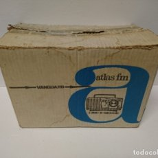 Radios antiguas: 188-RADIO TRANSISTOR VANGUARD ATLAS. Lote 182443833