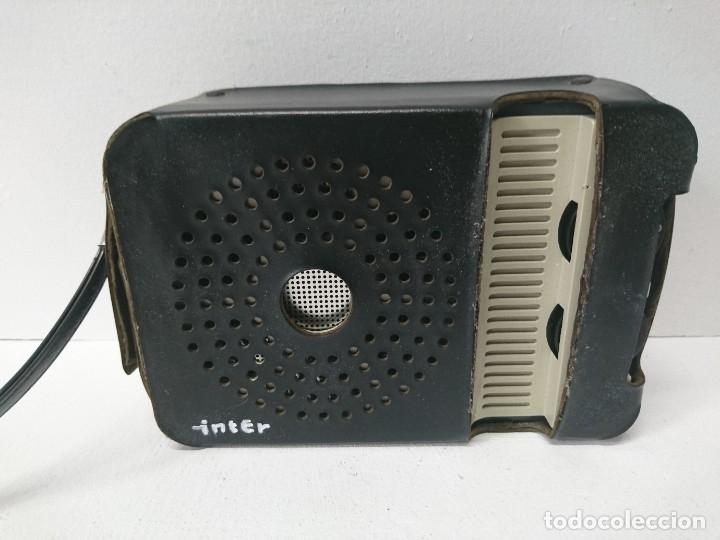 192-RADIO TRANSISTOR ÍNTER E-144 (Radios, Gramófonos, Grabadoras y Otros - Transistores, Pick-ups y Otros)