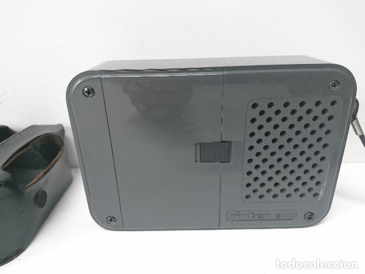 Radios antiguas: 192-Radio transistor Ínter E-144 - Foto 2 - 182581883