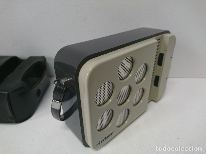 Radios antiguas: 192-Radio transistor Ínter E-144 - Foto 3 - 182581883